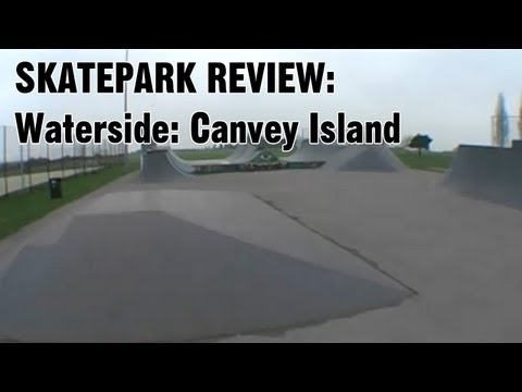 Waterside Farm skate park - Walk Around: Canvey Island