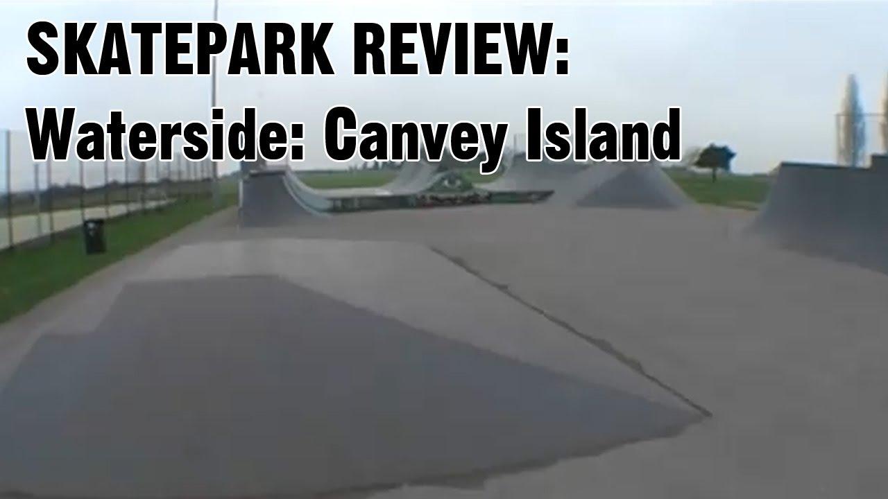 Waterside Farm Skate Park Walk Around Canvey Island