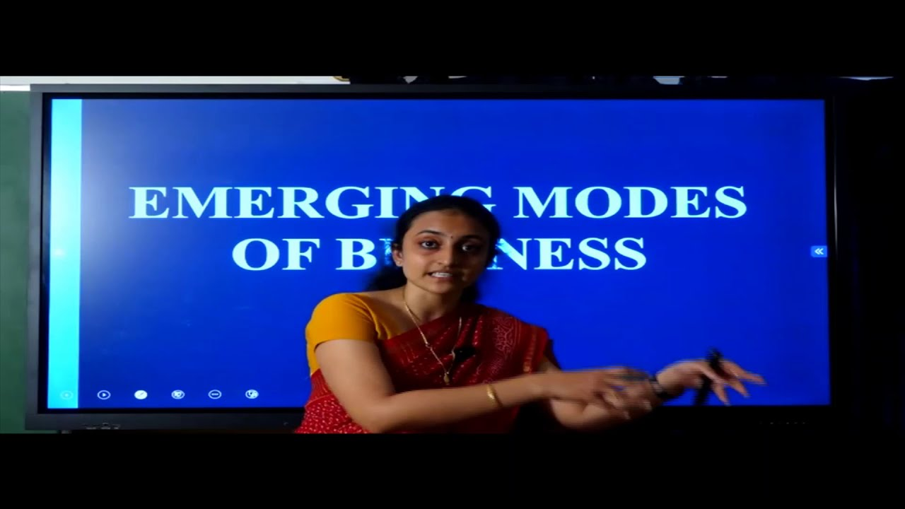 I PUC | BUSINESS STUDIES |  Emerging Modes of Business - 01