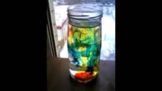 Опыт о диффузии красителей с водой(Эксперимент с красителями и водой, проведённый в рамках обучения сына естественно-научному подходу к позна..., 2010-12-04T18:40:55.000Z)