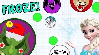 AGARIO FROZEN GAMEPLAY - EAT ALL ON CRASHED SERVER
