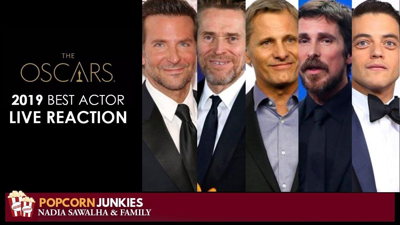 Oscar Ceremony - Best Actor Academy Awards 2019 Live