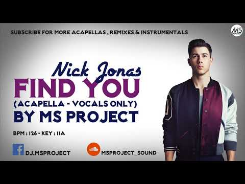 Nick Jonas Find You Download | Song Anjani