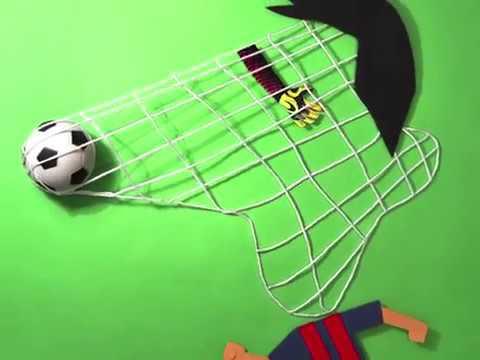 Humor gráfico para homenajear a Leo Messi