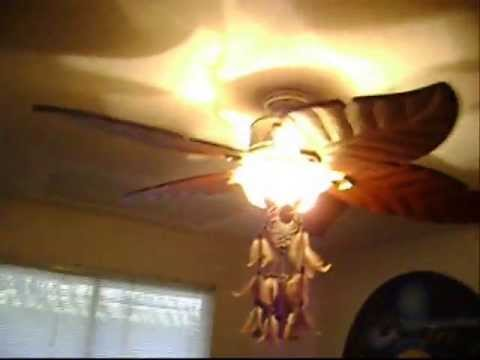 Hampton Bay Antigua Plus Ceiling Fan Youtube