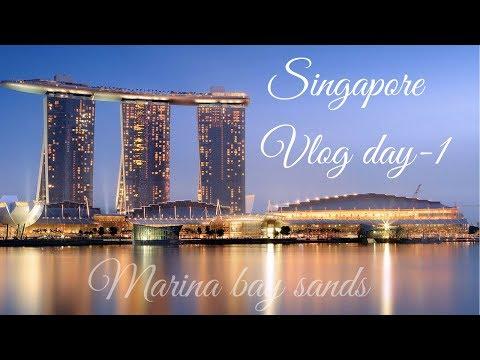 SINGAPORE VLOG -DAY 1 | MARINA BAY SANDS