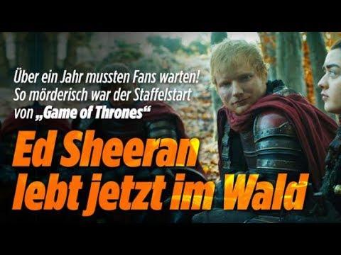 Ed Sheeran und Game Of Thrones / FC Bayern München / Ferrari - Aktuelle Nachrichten 17.7.17