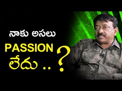 I Don't Have Passion : Ram Gopal Varma | RGV On His Book Passion | Ramuism Reloaded | TVNXT Hotshot