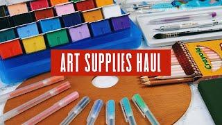 New Sketchbooks, Art Tools & Muji Supplies   Art Supplies Haul screenshot 2