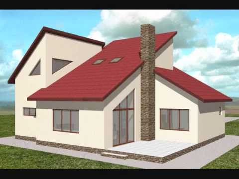 Proiect casa clara proiecte case cu mansarda youtube for Arhitectura case cu mansarda