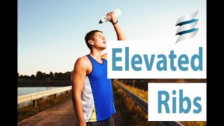 Elevated ribs - sore necks, backs and knees