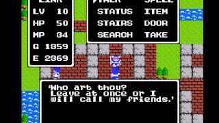 Dragon Warrior - Dragon Warrior (NES / Nintendo) - Vizzed.com GamePlay-Part 2 - User video