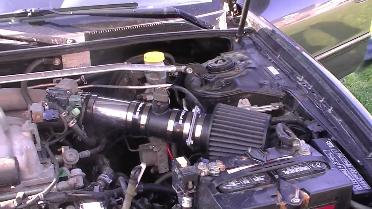 2002 nissan maxima custom short ram intake youtube vanachro Images