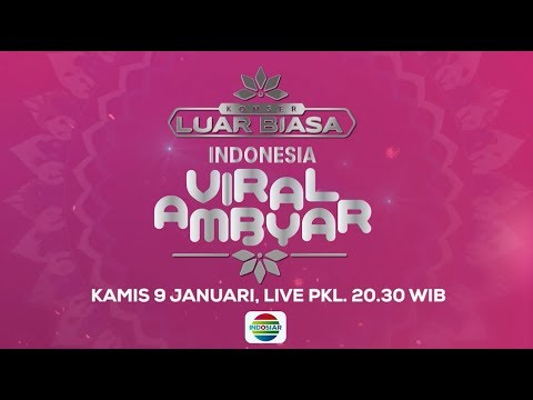 Nantikan Semua Yang Viral Hanya Di Konser Luar Biasa Indonesia