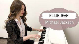 BILLIE JEAN - MICHAEL JACKSON | PIANO COVER | НОТЫ ДЛЯ ФОРТЕПИАНО видео