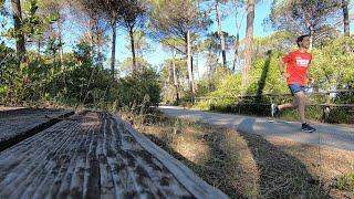Correre al Camping Cieloverde - Marina di Grosseto - Il mare in Maremma