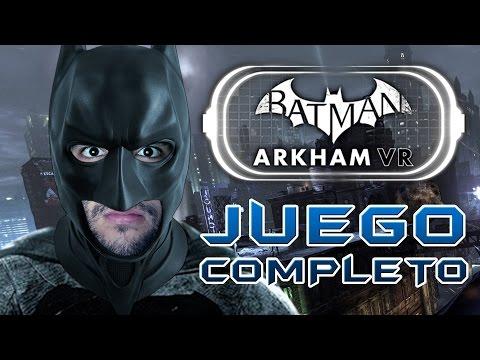 🦇 YO SOY LA NOCHE 🌛 | Batman Arkham VR | JUEGO COMPLETO con --ALEX--
