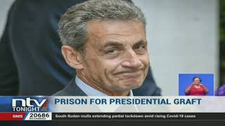 Ex French president, Nicolas Sarkozy, sentenced to 3 years in jail