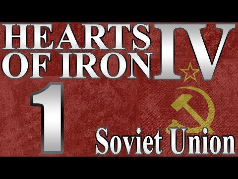 "Hearts of Iron 4 Soviet Union ""Komrades Unite!"" EP: 1"