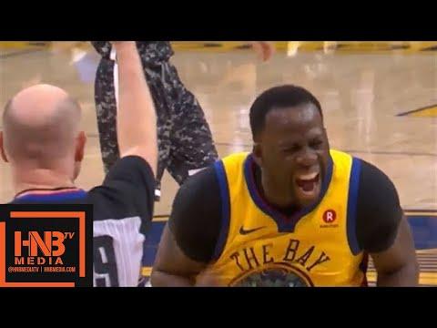 Golden State Warriors vs San Antonio Spurs 1st Half Highlights / March 8 / 2017-18 NBA Season