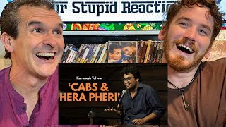 Cab Drivers and Hera Pheri | Stand-up Comedy by Karunesh Talwar REACTION!!