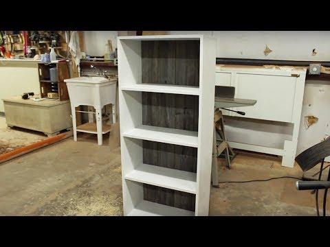 DIY Book Shelf // Old Fence Boards