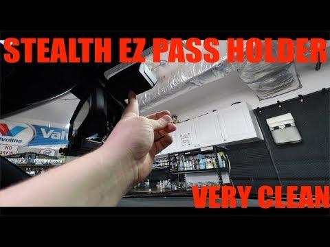 EZ Pass Stealth Window Holder