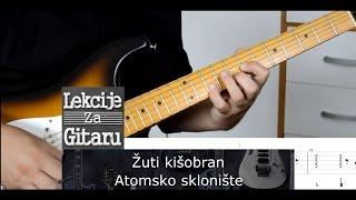 Žuti kišobran - Atomsko sklonište - cover lesson w/TAB