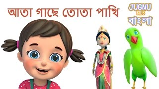 আতা গাছে তোতা পাখি | Ata Gachhe Tota | Bengali Rhymes for Children