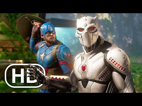 Download AVENGERS BLACK PANTHER Full Movie Cinematic (2021) 4K ULTRA HD Superhero