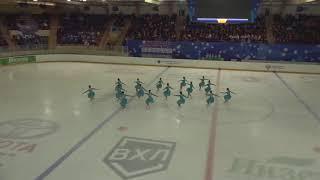 Чемпионат России по синхронному катанию KMC Короткая программа 9 Идель KZN