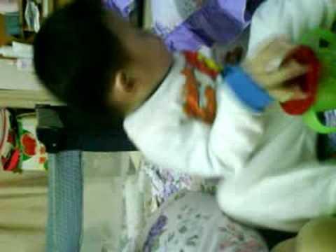 Tham Ming Wah Enjoying Water Drinking