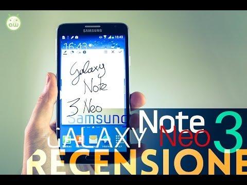 Samsung Galaxy Note 3 Neo, recensione in italiano