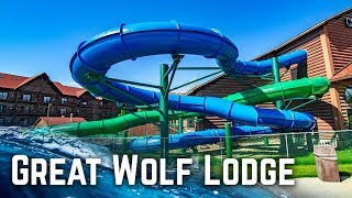 ALL WATER SLIDES at Great Wolf Lodge Sandusky, Ohio!