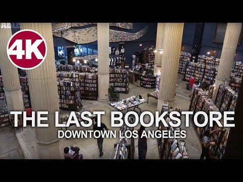 Walking Tour | The Last Bookstore - Downtown Los Angeles, California