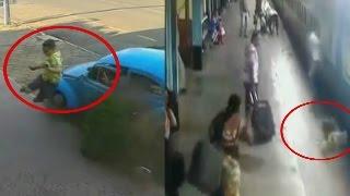 TOP 5 momentos Impactantes y Aterradores CAPTADOS EN VIDEO