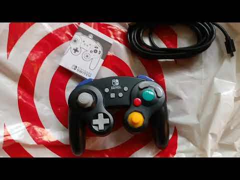 Power A gamecube controller wired for Nintendo switch review Smash Ultimate