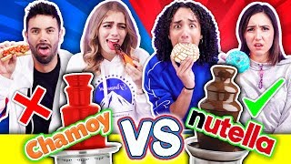 Do not choose the INCORRECT Fountain * Chamoy VS Nutella * Ft Caro Díaz - Dany Alfaro