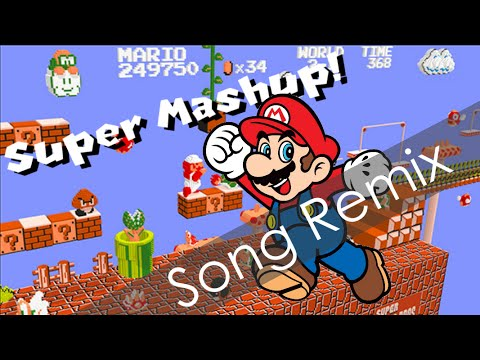 song remix super mario bros theme super mashup youtube. Black Bedroom Furniture Sets. Home Design Ideas