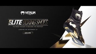The all New Venum Elite Boxing Boots have landed - Australia
