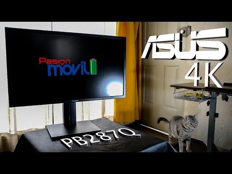 Monitor 4K ASUS PB287Q - Análisis en Español