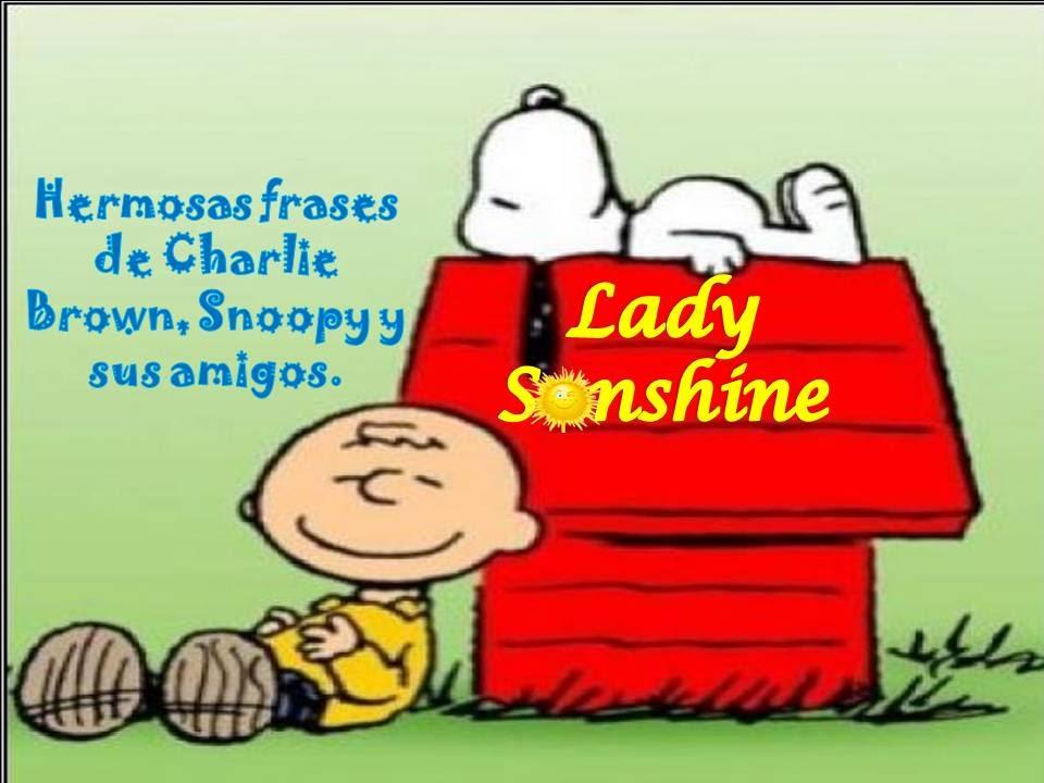 Frases De Charlie Brown Snoopy Y Sus Amigos