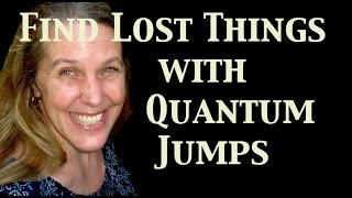 How to Find Lost Things with Quantum Jumping