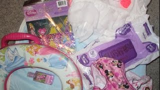 WHAT'S IN MY TOILET TRAINING BAG?