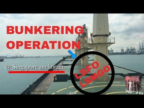 Bunkering Operation-Singgah di Singapore