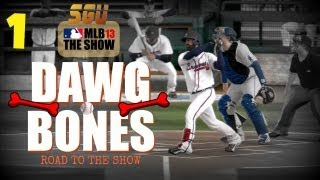 MLB 13 The Show - Introducing Dawg Bones: Road To The Show EP1