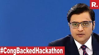 Cong-Backed EVM Hackathon: Wild Charges Without Any Proof? | The Debate With Arnab Goswami