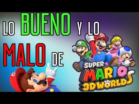 Lo Bueno y lo Malo de Super Mario 3D World