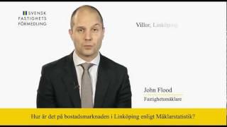 Svensk Fastighetsförmedling Linköping kommenterar Mäklarstatistik (14 feb 2012)