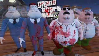 EVIL Family Guy VS EVIL American DAD MOD (GTA 5 PC Mods Gameplay)